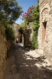 Narrow street in medieval town Gordes. Provence, France