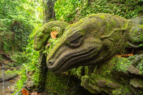 Plexiglas Bali Dragon Scultpure