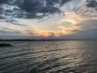 Quadro cesenatico sunset
