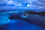 Bore Bora surrounded by Blue - 216966135