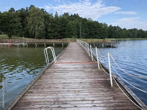 Aluminium Pier jezioro luterskie