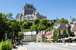 Chateau Frontenac Hotel in Quebec City on summer