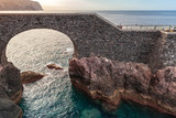 Old stone bridge in Ponta do Sol, Madeira - 216986788