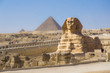 The Great Pyramid and Sphinx