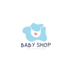 Baby shop logo © yusuf