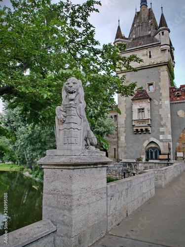 In de dag Boedapest Budapest Burg Vajdahunyad 2