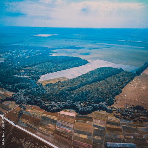 Aluminium Blauw Ukraine