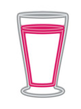 drink glass isolated icon vector illustration design - 216996190