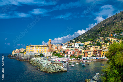 In de dag Liguria Nervi, Genova