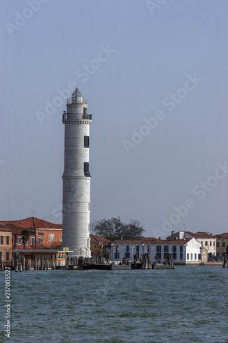 Aluminium Vuurtoren Leuchtturm von Santo Stefano