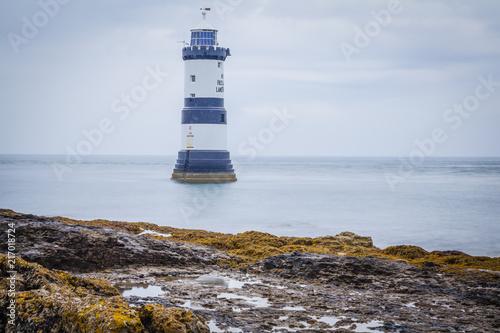 Aluminium Vuurtoren Der Leuchtturm von Penmon Point, Anglesey