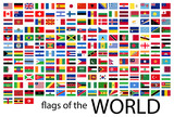 all country flags of the world - 217019372