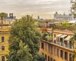 Quadro Aerial Urban Cityscape, Rome, Italy