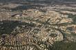 Quadro Aerial view of Rome