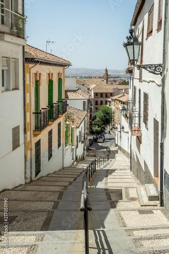 Aluminium Smalle straatjes Granada