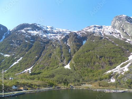 Plexiglas Khaki Eidfjord - Natur pur