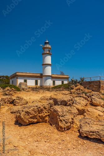 Aluminium Vuurtoren Mallorca Leuchtturm