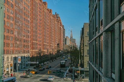 Foto Murales Manhattan street
