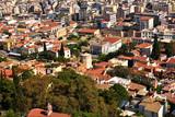 アクロポリスからののアテネ市街