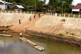 Checkpoint border Thai and Laos