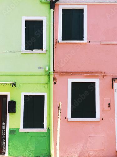 Foto Murales Burano, Italy