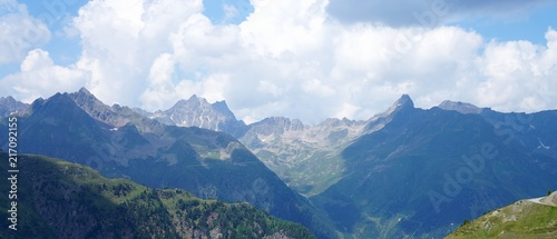 Berge Panorama Alm - 217092155