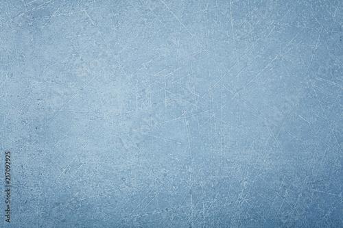 Foto Spatwand Betonbehang Grunge uneven blue concrete background texture