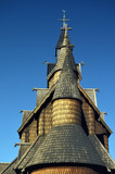 Heddal Stave Church, Norways largest stave church, Notodden municipality, Norway - 217101509