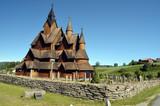 Heddal Stave Church, Norways largest stave church, Notodden municipality, Norway - 217101519