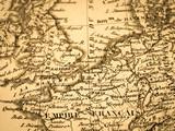 古地図 イギリスとフランス - 217105197