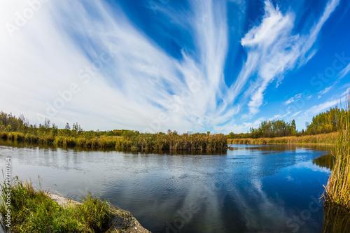 Foto Murales Wonderful clouds day