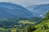 The Caucasus mountains in Russia