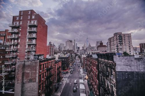 Fototapeta New York Chinatown