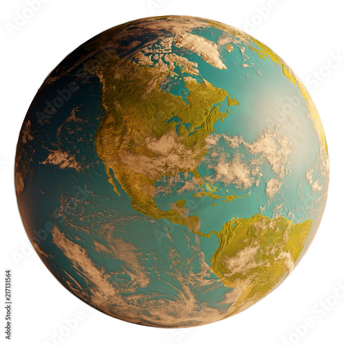 world map world globe north and south america. elements of this image furnished by NASA
