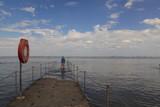Faszination Wattenmeer; Auflaufendes Wasser in Burhave