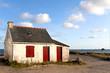 Leinwanddruck Bild - In der Bretagne