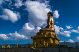 The buddha dordenma or the buddha point in thimphu, bhutan