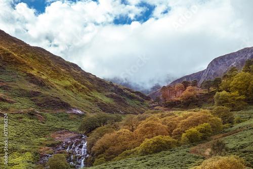 Herbsstimmung im Snowdonia Nationalpark