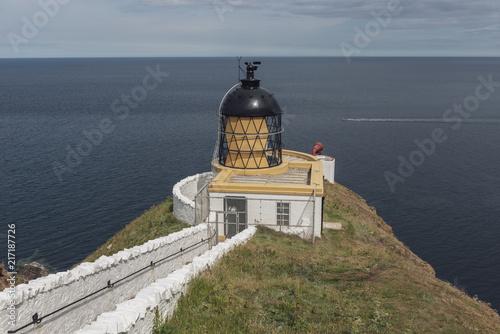 Aluminium Vuurtoren St Abbs Nature Reserve Lighthouse, Scotland