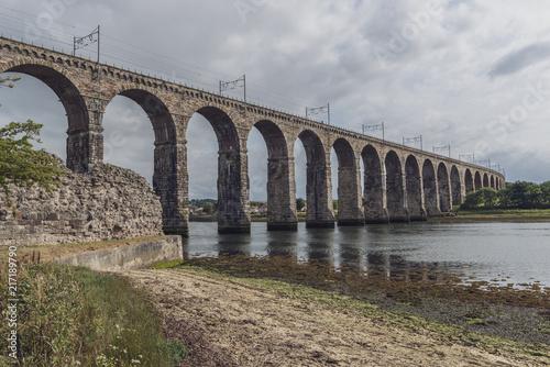 Wall mural The Royal Border Bridge, Berwick Upon Tweed, England