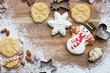 Zum Weihnachtsfest backen - 217190993