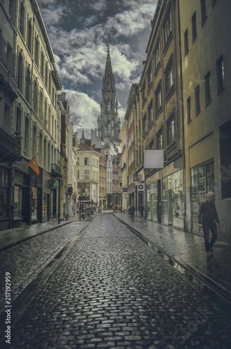 Aluminium Smalle straatjes Bruxelles