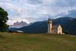 Quadro Church of St. Jacob, South Tyrol.