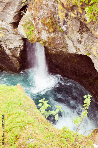 Gudbrandsjuvet gorge in Norway - 217202709