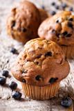 Homemade Blueberry Muffins - 217204133