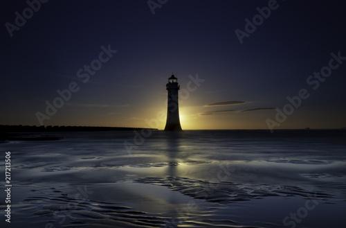 Aluminium Vuurtoren New Brighton Lighthouse