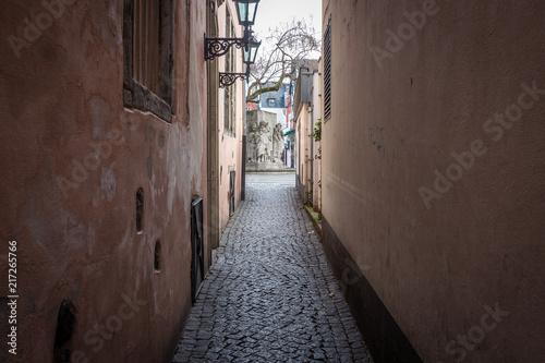 Aluminium Smalle straatjes Narrow street