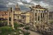 Quadro Rome. Forum/