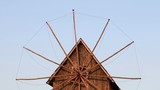 Old wooden windmill detail Nessebar Bulgaria - 217268383