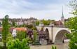 Leinwanddruck Bild - Bern old town, Switzerland